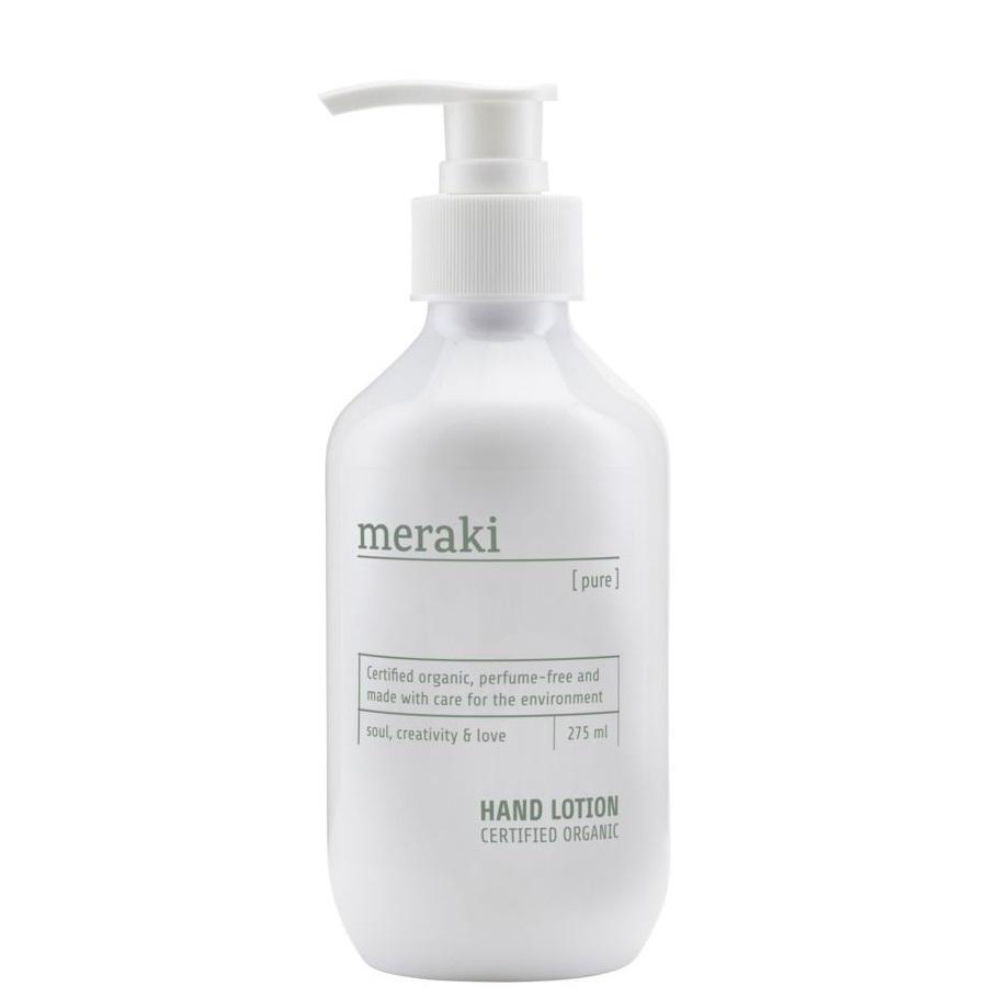 meraki Přírodní krém na ruce Meraki Pure 275 ml, bílá barva, plast