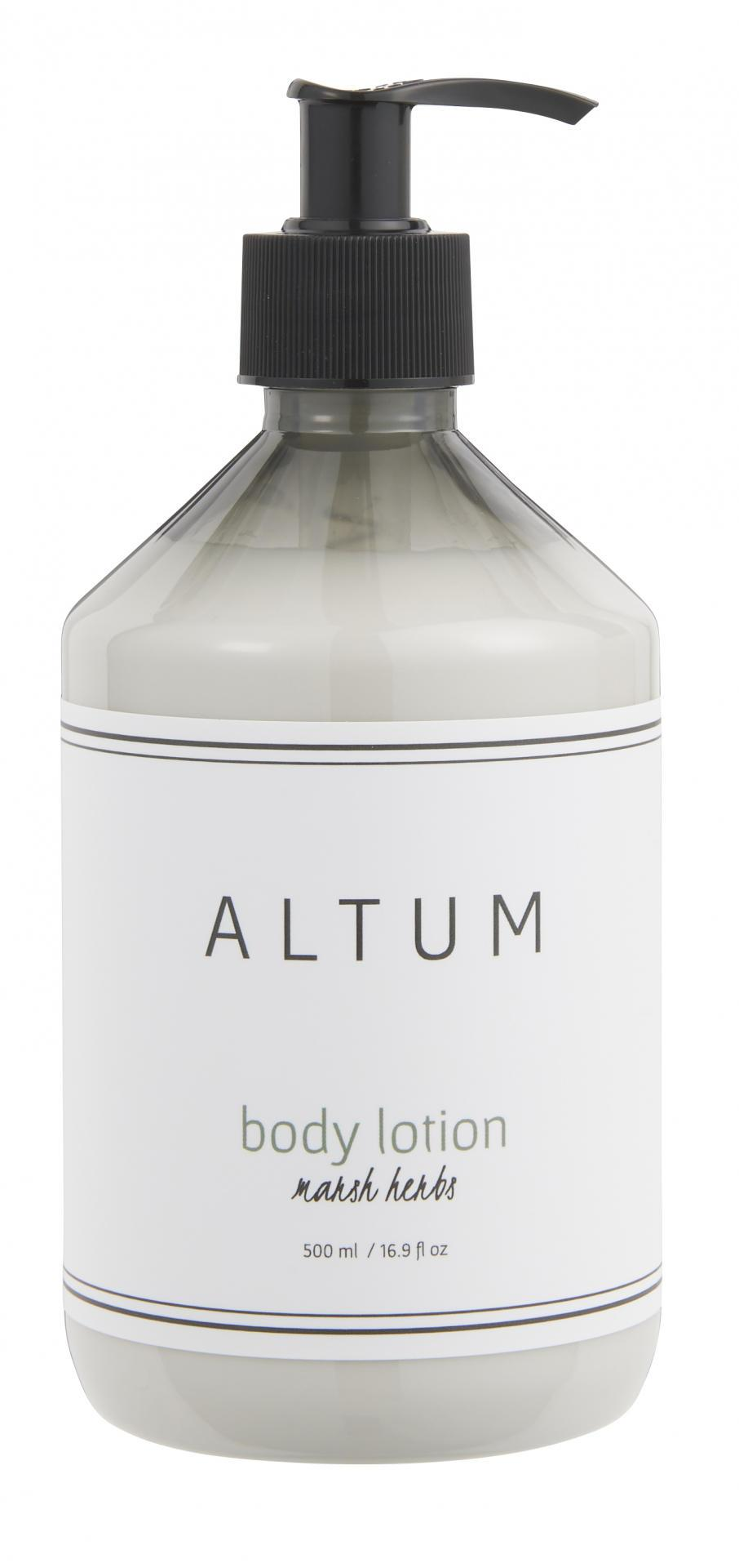 IB LAURSEN Tělové mléko ALTUM - Marsh Herbs 500ml, bílá barva, plast