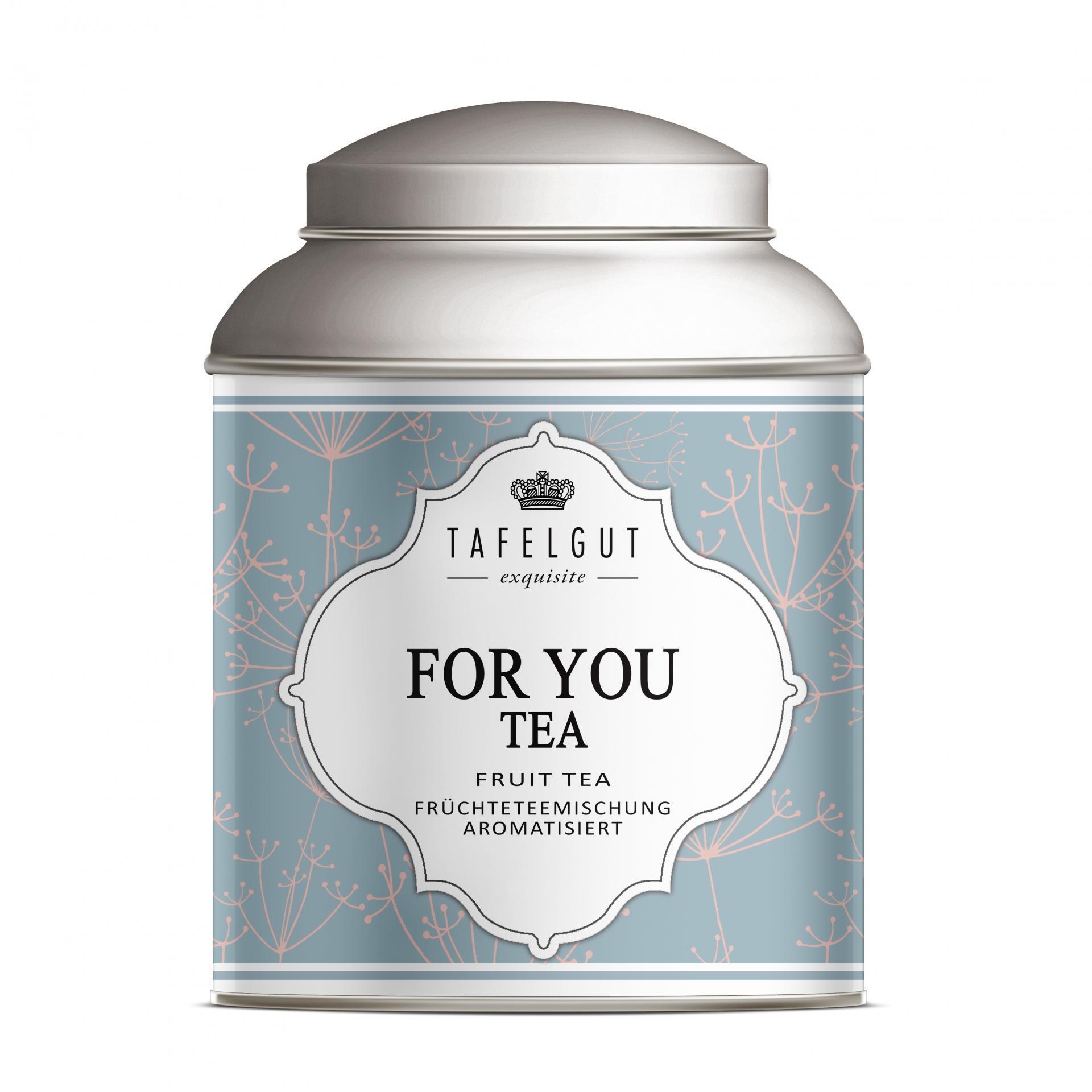 TAFELGUT Mini ovocný čaj For You Tea - 35gr, modrá barva, kov