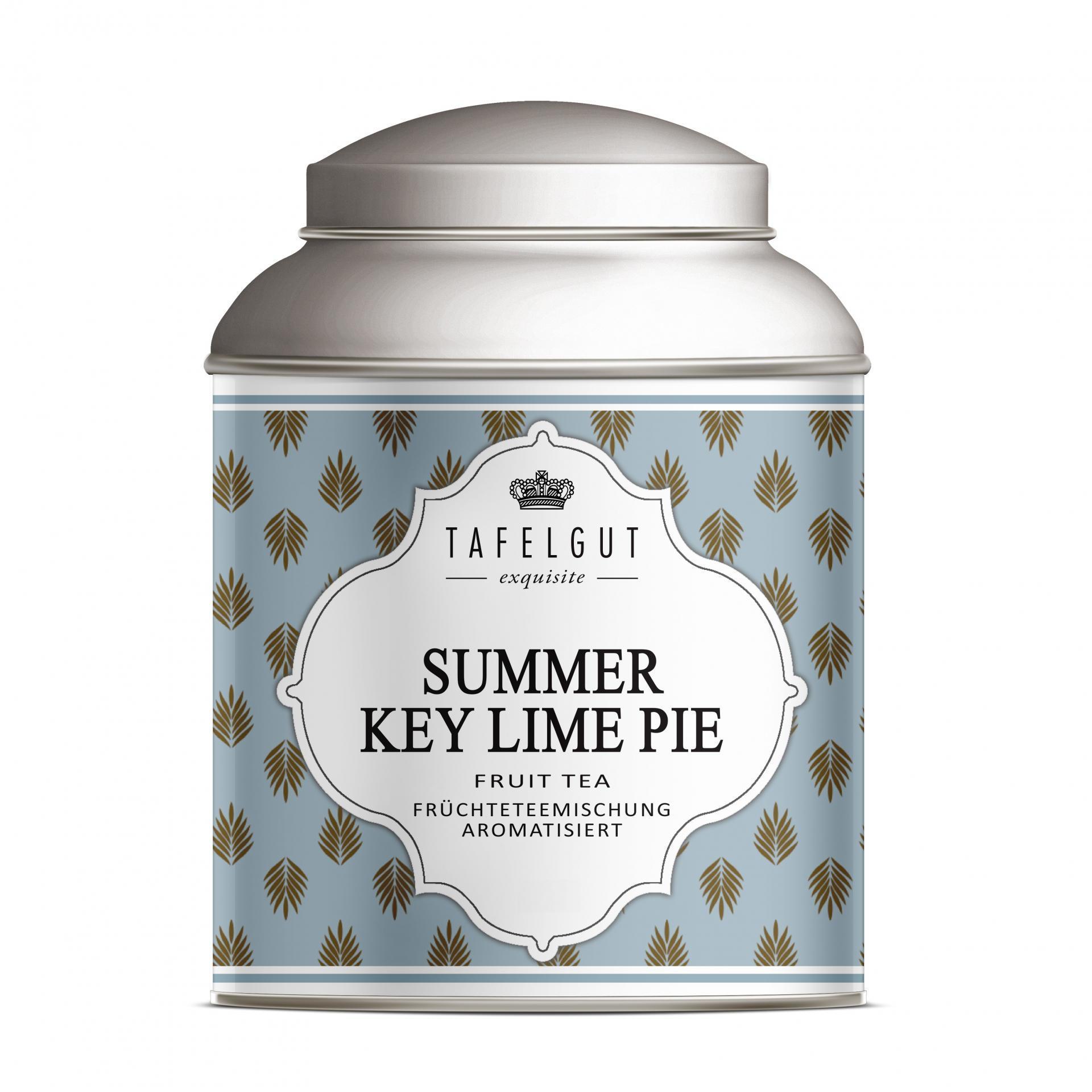 TAFELGUT Mini ovocný čaj Summer Key Lime Pie - 25gr, modrá barva, kov