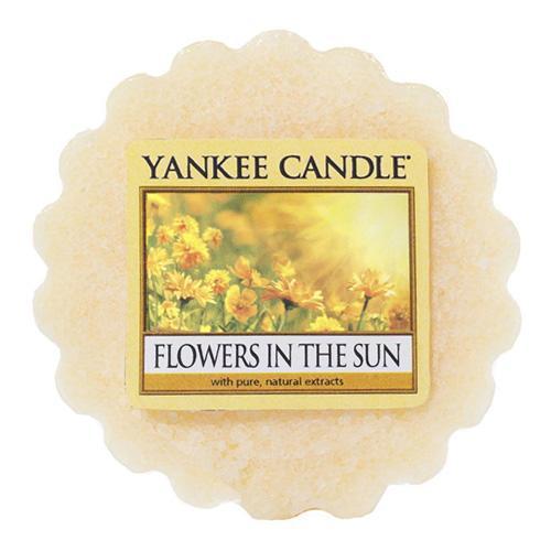 Yankee Candle Vosk do aromalampy Yankee Candle - Květiny na slunci, žlutá barva, vosk