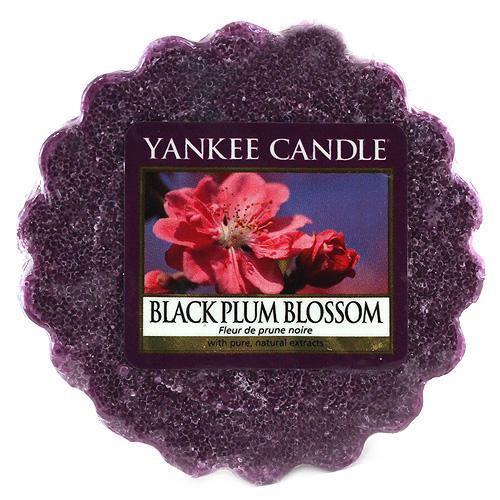 Yankee Candle Vosk do aromalampy Yankee Candle - Květ černé švestky, fialová barva, vosk