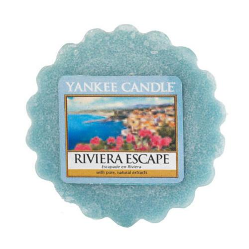 Yankee Candle Vosk do aromalampy Yankee Candle - Riviera Escape, modrá barva, vosk