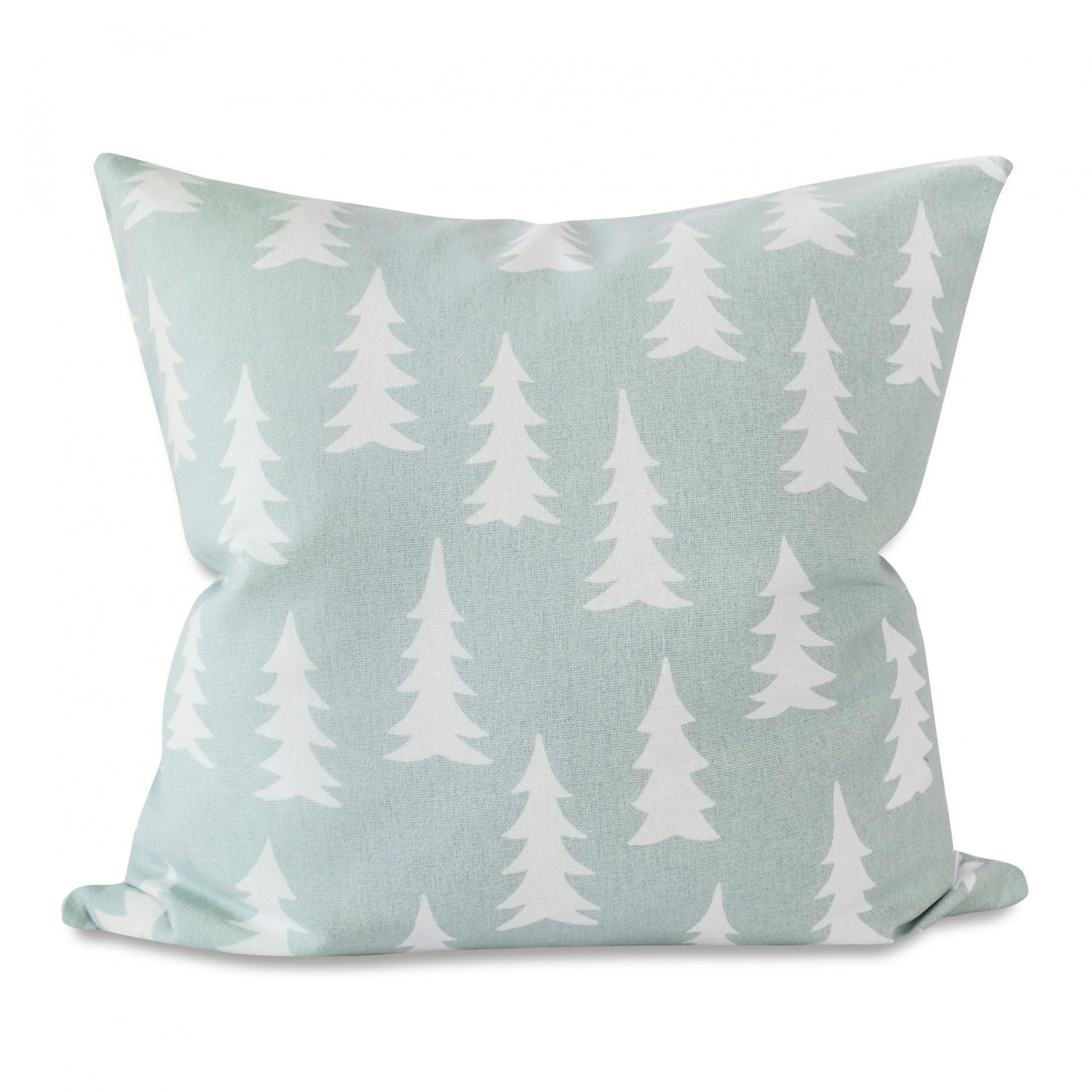 Fine Little Day Povlak na polštář Gran Sage Green 48x48cm, zelená barva, textil