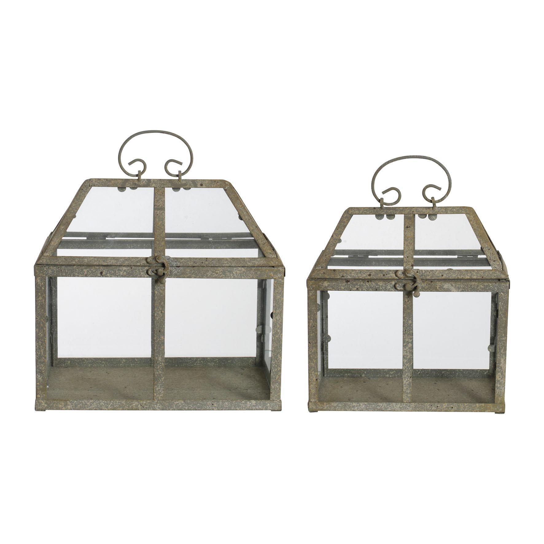 CÔTÉ TABLE Zahradní skleník Jardinet H26/23 Menší, multi barva, sklo, kov