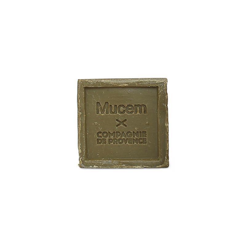 COMPAGNIE DE PROVENCE Mýdlo na praní Mucem Olive 300gr, zelená barva