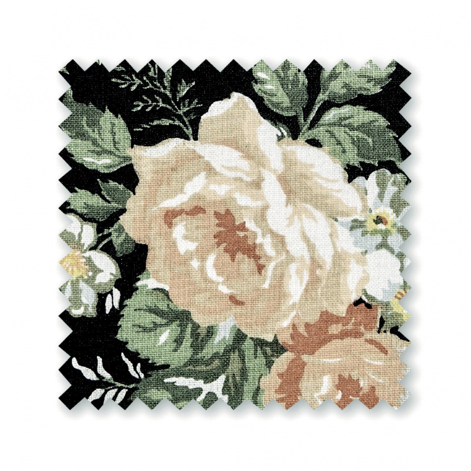 17e33116f1e Bavlnená látka Josephine Black - 1m | Bella Rose