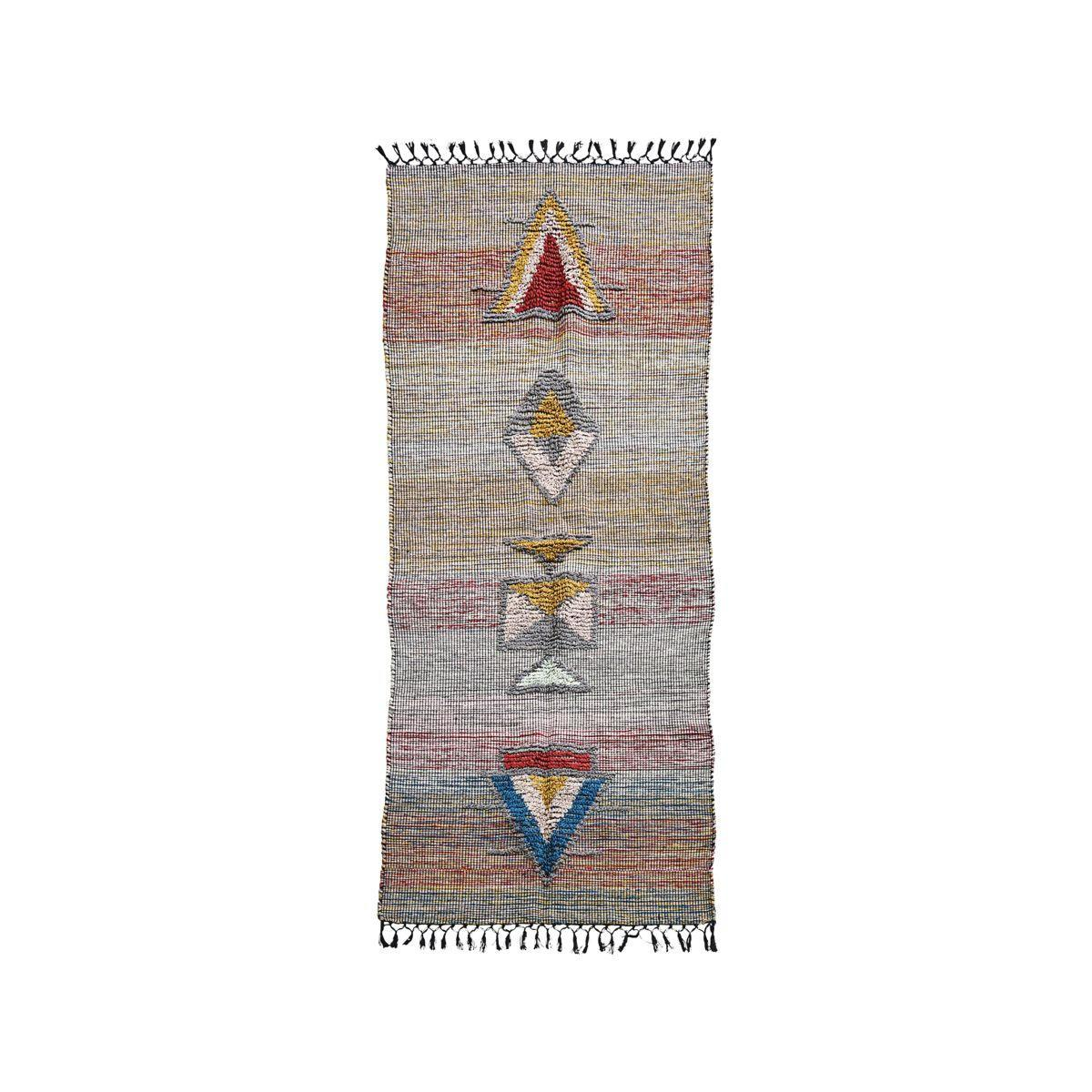 House Doctor Koberec Amara 90x200 cm, multi barva, textil