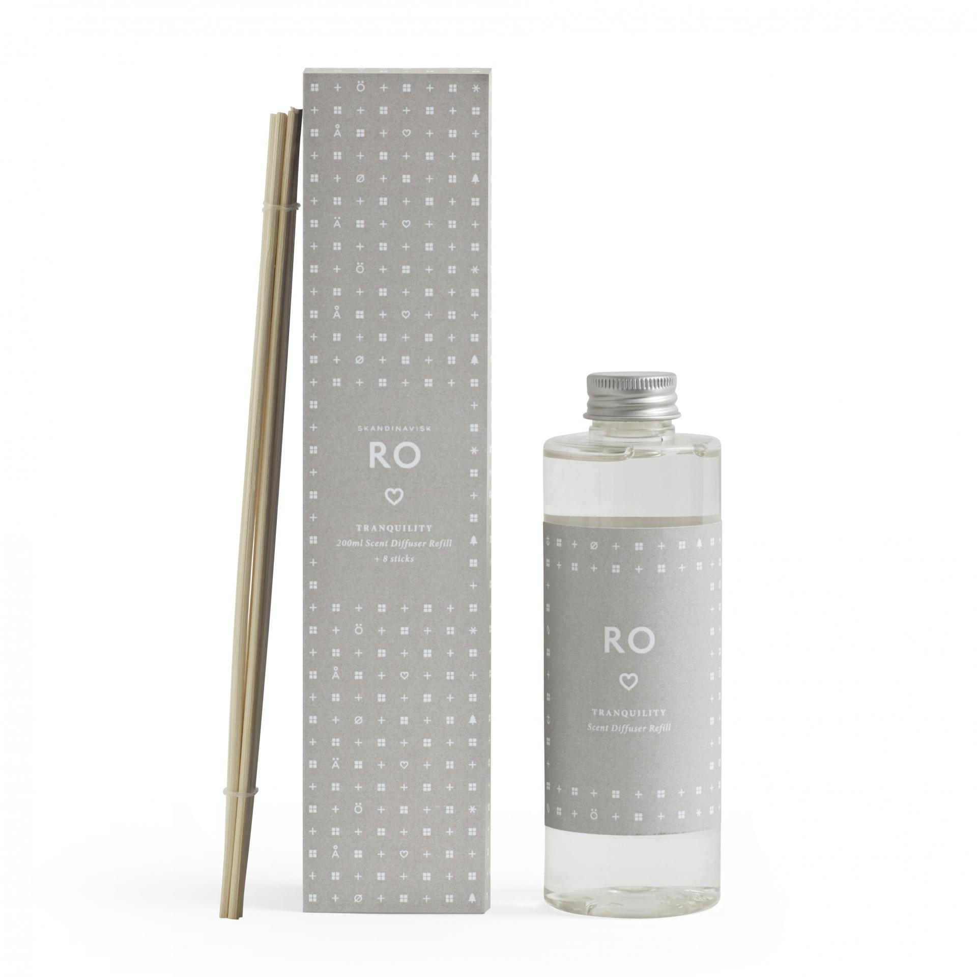 SKANDINAVISK Náhradní náplň do difuzéru RO (klid) 200 ml, béžová barva, plast