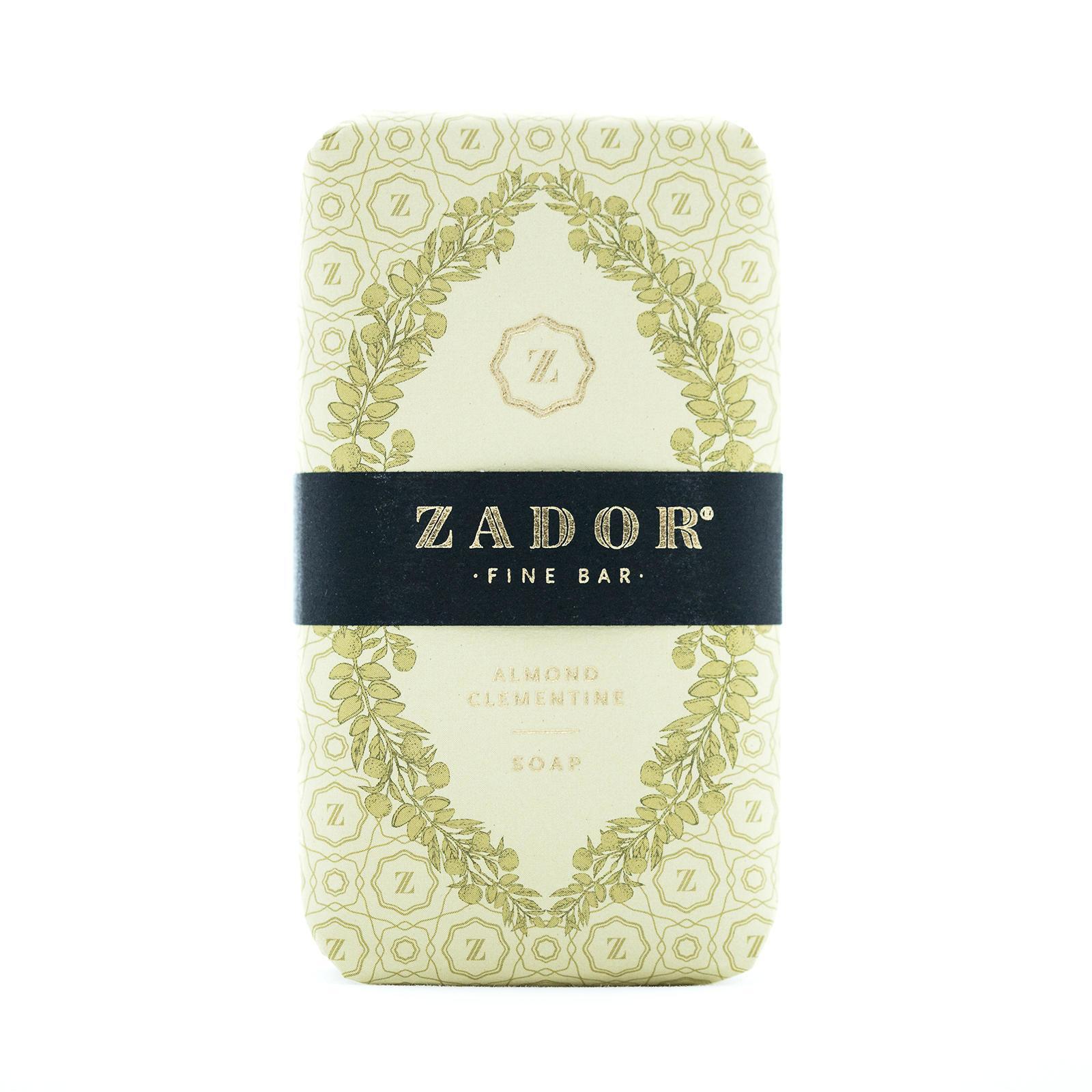 ZADOR Luxusní mýdlo ZADOR - Mandle a klementinka, zelená barva