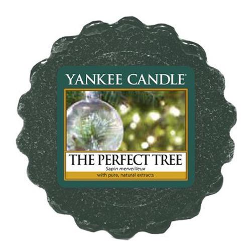 Yankee Candle Vosk do aromalampy Yankee Candle - The Perfect Tree, zelená barva, vosk