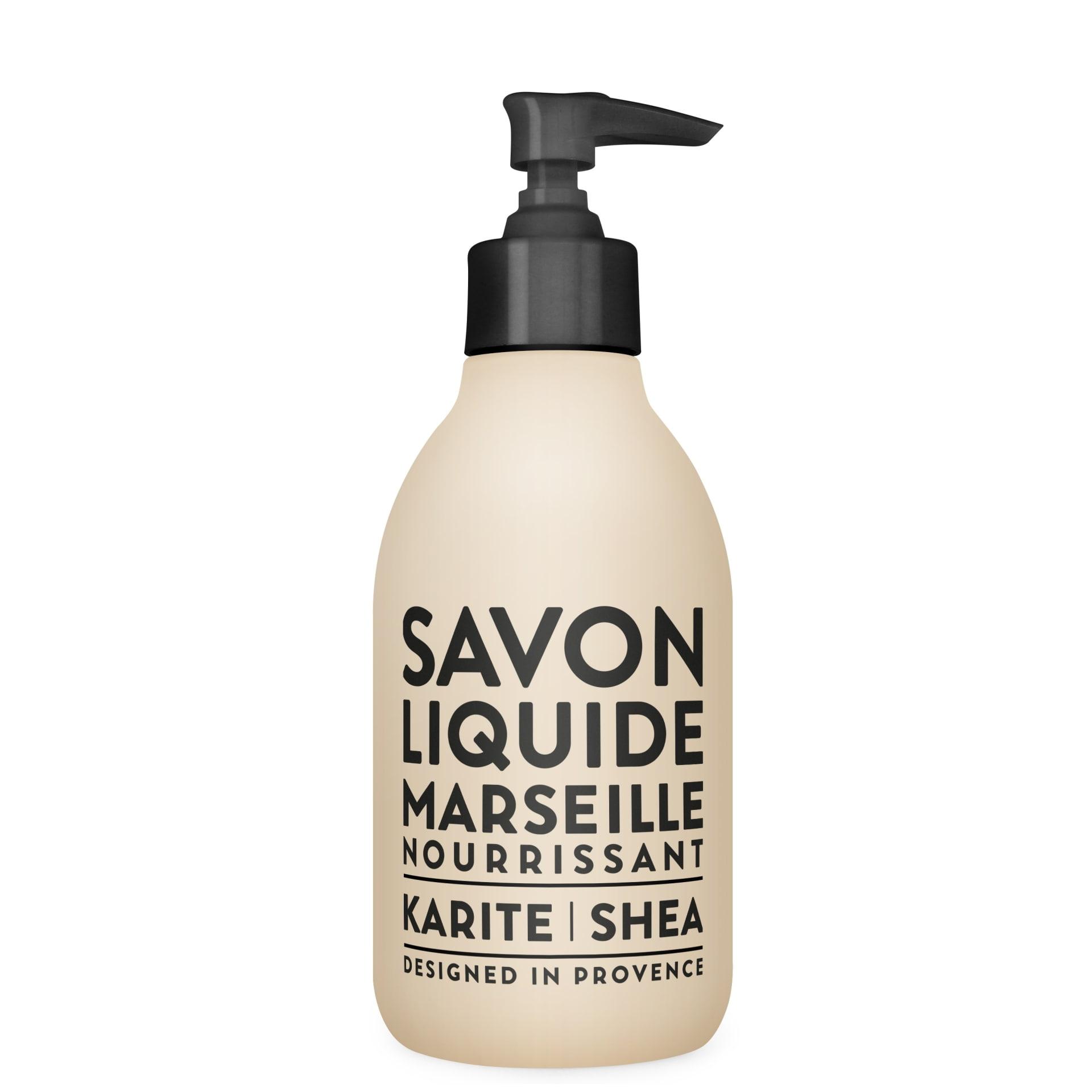COMPAGNIE DE PROVENCE Sprchový gel - Shea Soap, černá barva, krémová barva, plast