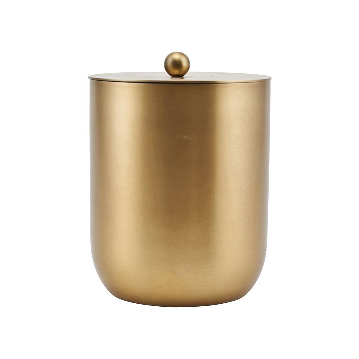 House Doctor Chladící nádoba na víno Alir, zlatá barva, kov