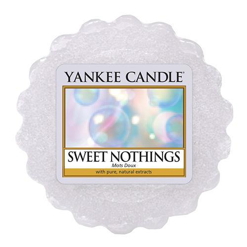 Yankee Candle Vosk do aromalampy Yankee Candle - Sweet Nothings, modrá barva, vosk