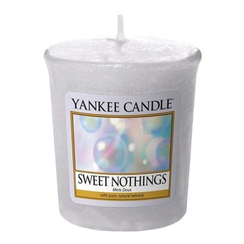 Yankee Candle Votivní svíčka Yankee Candle - Sweet Nothings, modrá barva, vosk