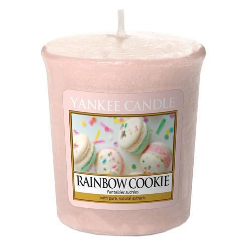 Yankee Candle Rainbow Cookie 49 g, růžová barva