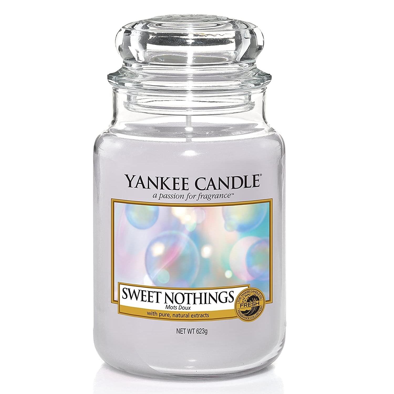 Yankee Candle Svíčka Yankee Candle 623gr - Sweet Nothings, modrá barva, sklo, vosk