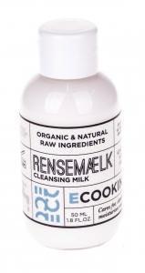 ECOOKING Čisticí pleťové mléko Ecooking 50ml, bílá barva, plast