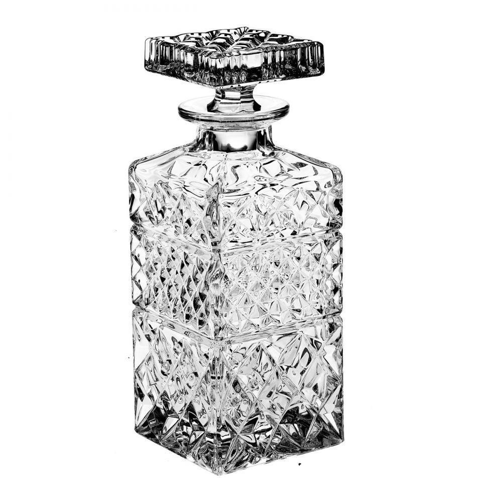 CRYSTAL BOHEMIA Křišťálová karafa se skleničkami Madison, čirá barva, sklo
