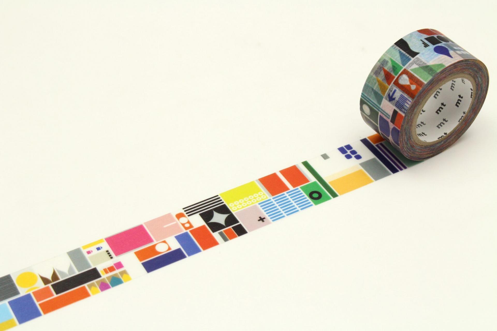 mt Japonská papírová páska Remixed Shapes 46c4a469b9