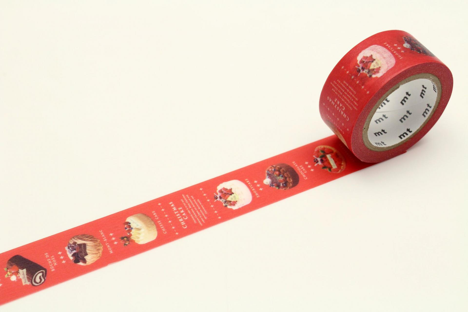 mt Japonská papírová páska Christmas Cake 0b1ac15259