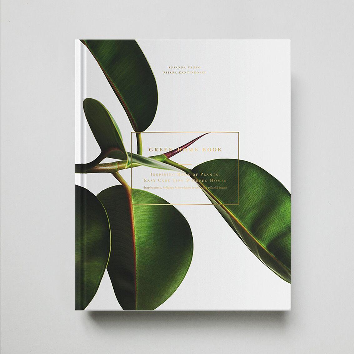 Green Home Book, zelená barva, papír