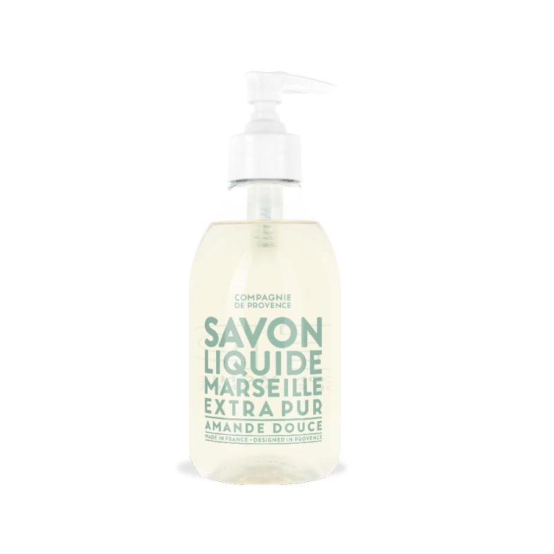 COMPAGNIE DE PROVENCE Tekuté mýdlo Amande Douce 300 ml, čirá barva, plast