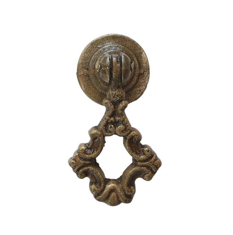 Chic Antique Kovová úchytka Antique 5,5cm, měděná barva, kov