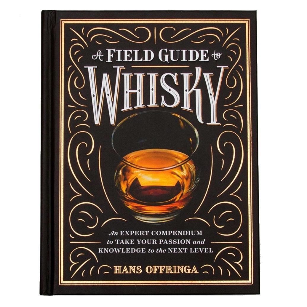 A Field Guide to Whisky - Hans Offringa, černá barva, papír