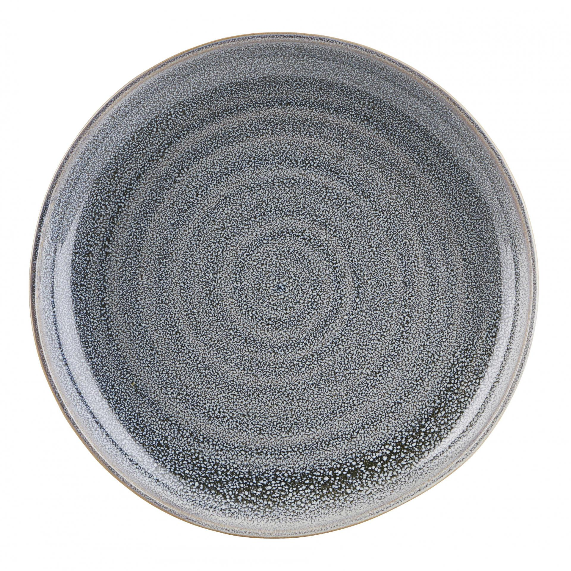 House Doctor Keramický talíř Nord Grey ⌀ 22 cm, šedá barva, keramika