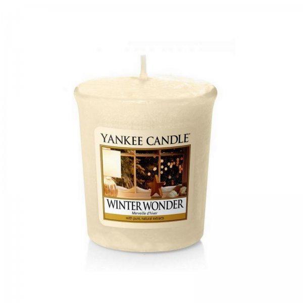 Yankee Candle Winter Wonder 49 g, béžová barva