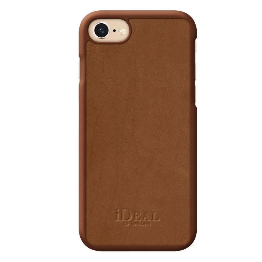 iDeal of Sweden Módní kryt na iPhone 8/7/6/6S Como Case, hnědá barva, plast, kožešina