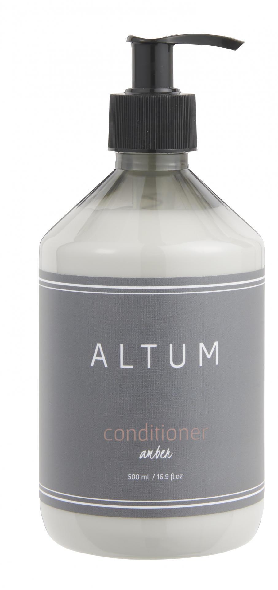 IB LAURSEN Kondicionér na vlasy ALTUM Amber 500ml, šedá barva, bílá barva, plast