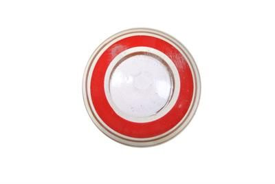 La finesse Dřevěná úchytka Red/brown, červená barva, hnědá barva, dřevo