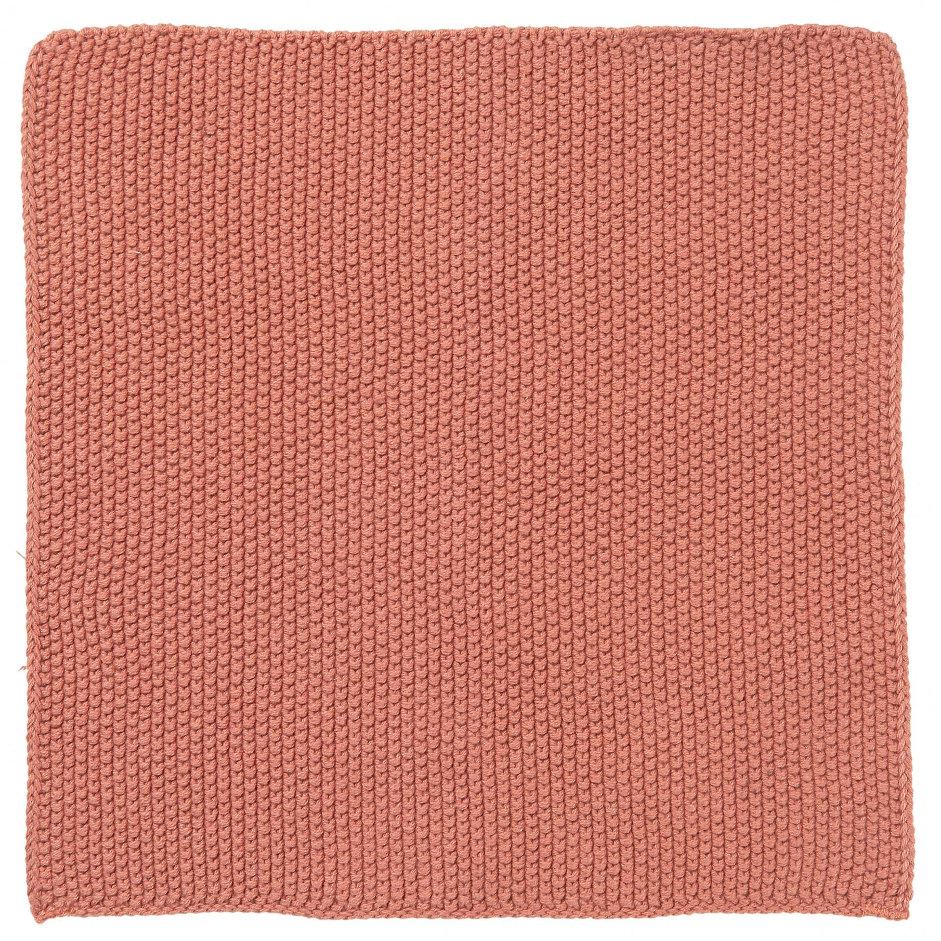IB LAURSEN Pletený hadřík Mynte Desert Rose, růžová barva, textil