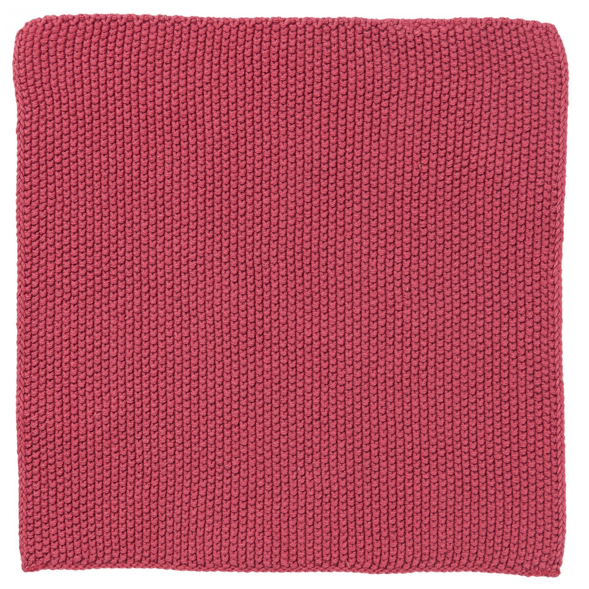 IB LAURSEN Pletený hadřík Mynte Blackberry Parfait, růžová barva, textil
