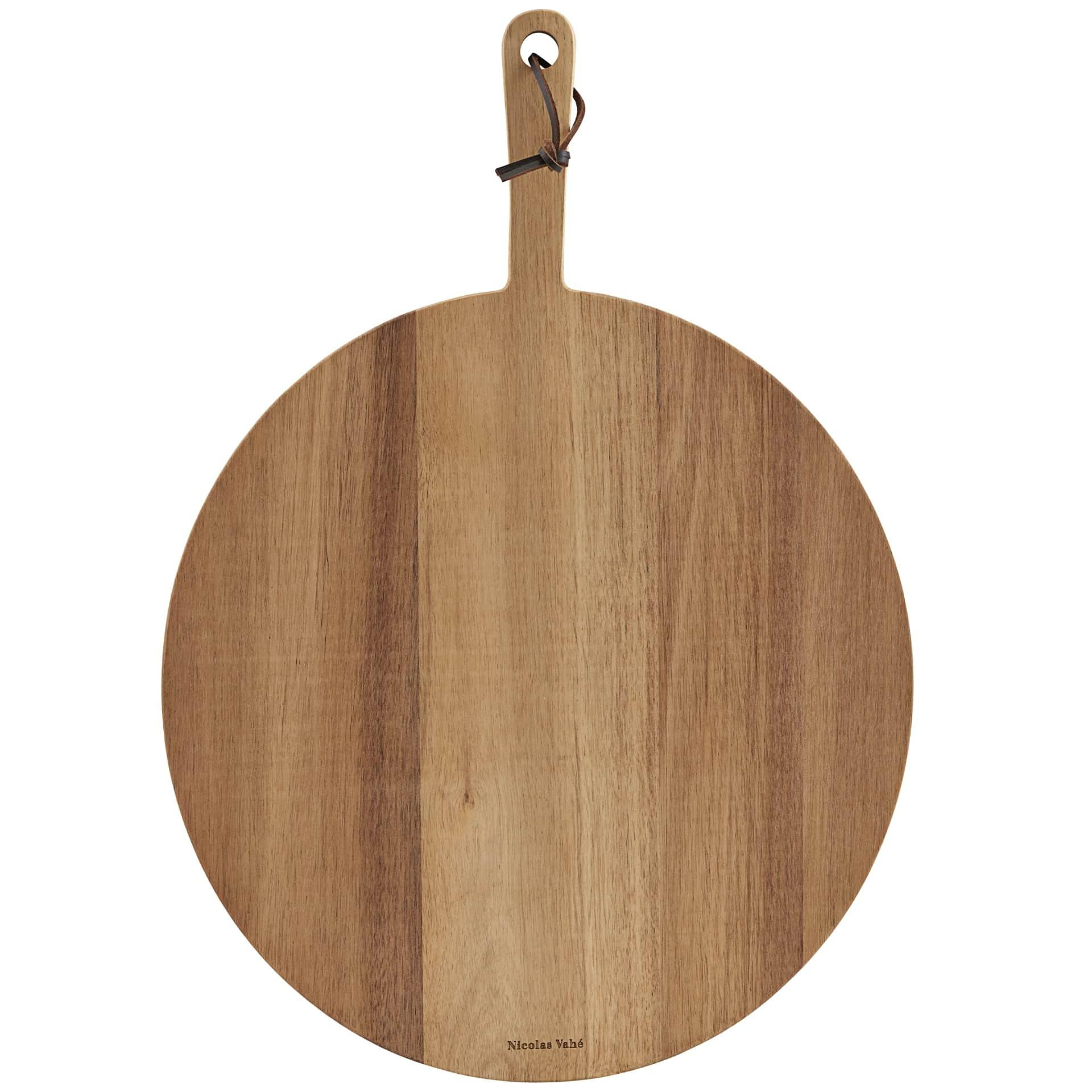 Nicolas Vahé Dřevěné prkénko na pizzu Acacia, hnědá barva, přírodní barva, dřevo