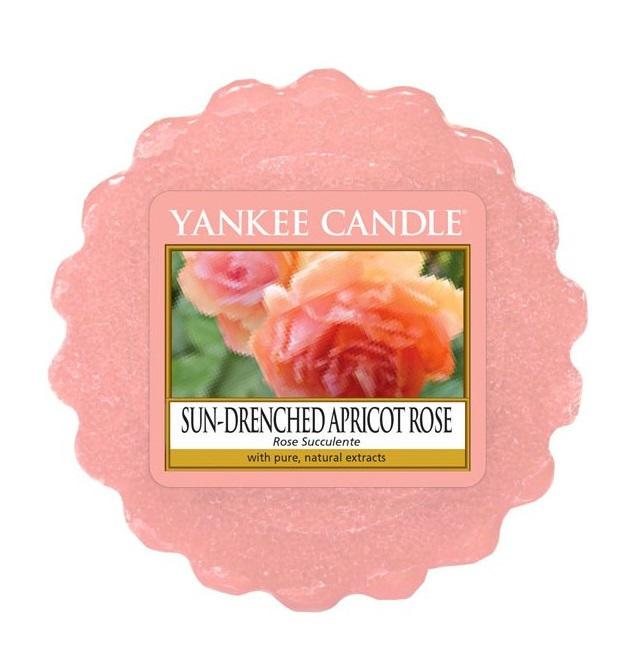 Yankee Candle Vosk do aromalampy Yankee Candle - Sun-Drenched Apricot Rose, růžová barva, vosk