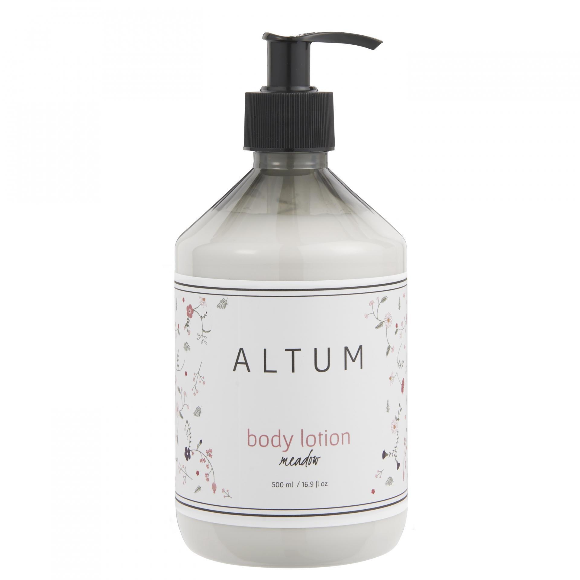 IB LAURSEN Tělové mléko ALTUM - Meadow 500 ml, šedá barva, bílá barva, plast
