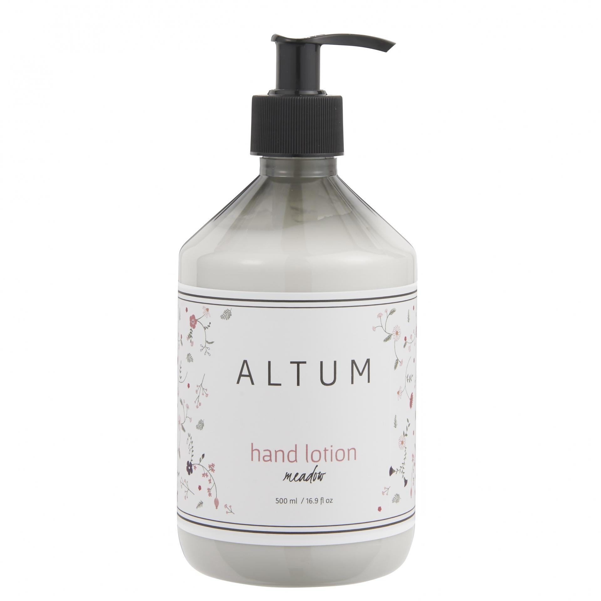 IB LAURSEN Mléko na ruce ALTUM - Meadow 500 ml, šedá barva, bílá barva, plast