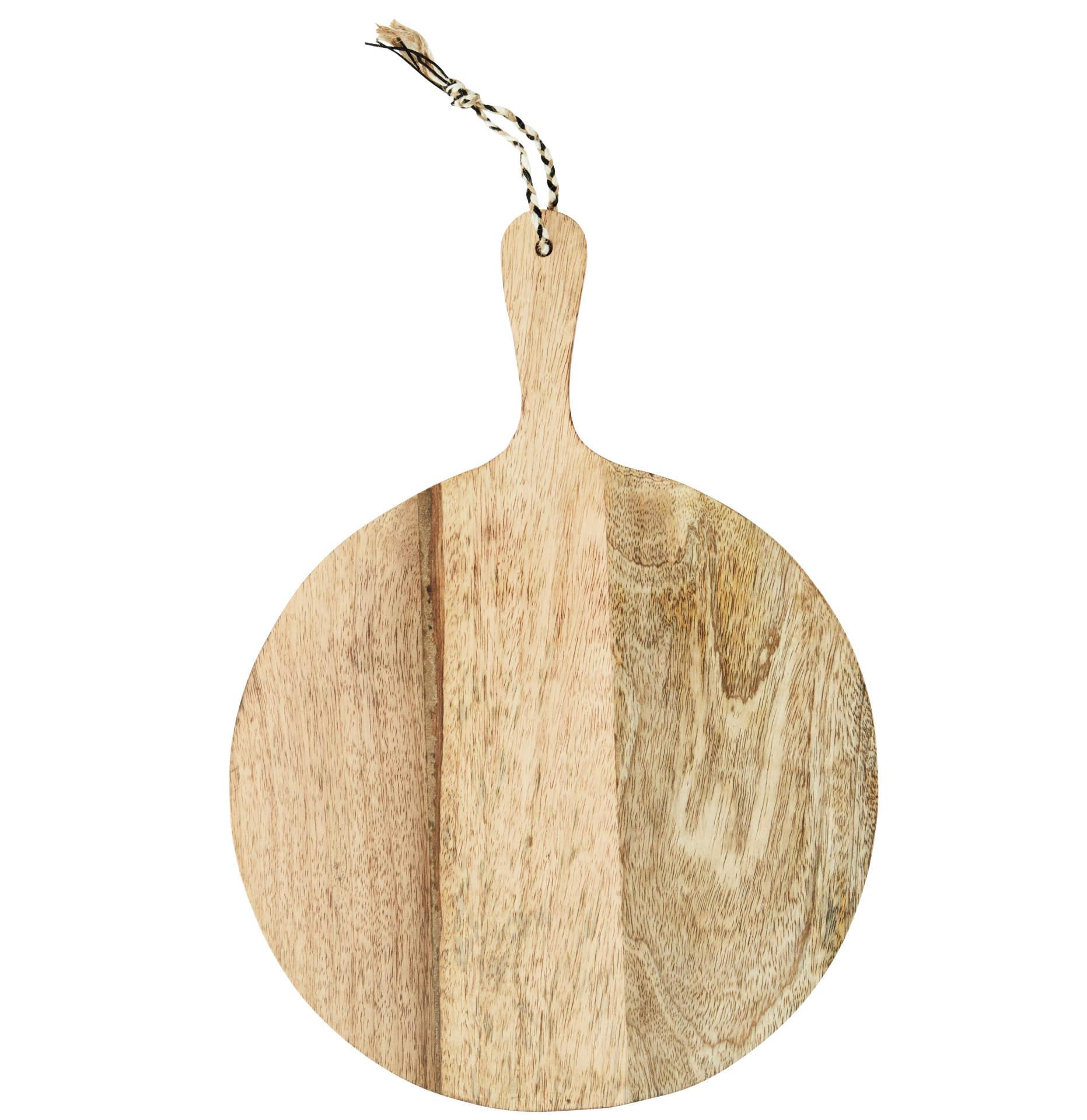 MADAM STOLTZ Dřevěné prkénko Mango Chopping Board, přírodní barva, dřevo