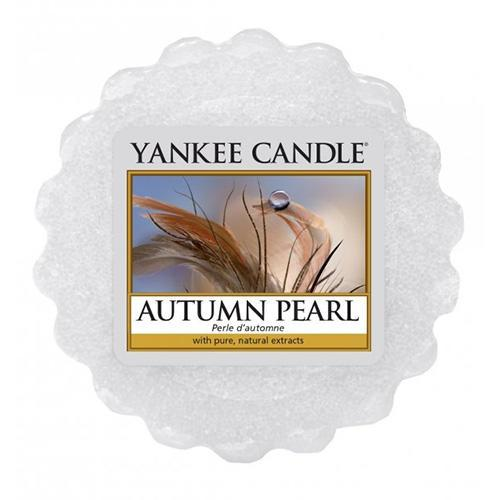 Yankee Candle Vosk do aromalampy Yankee Candle - Autumn Pearl, modrá barva, vosk