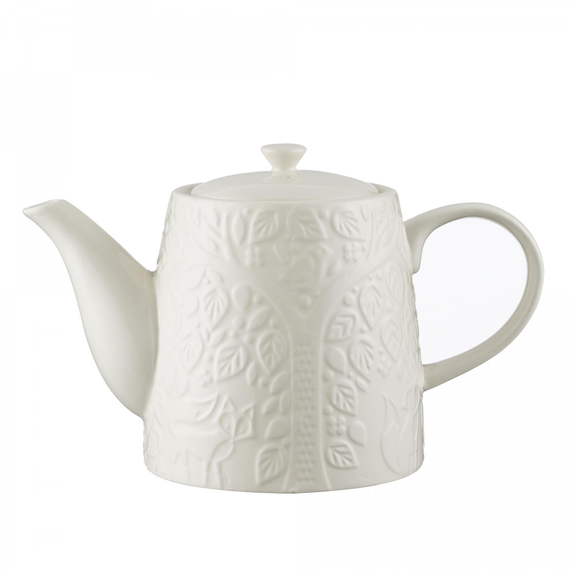 Mason Cash Konvice na čaj In the Forest 1l, krémová barva, keramika