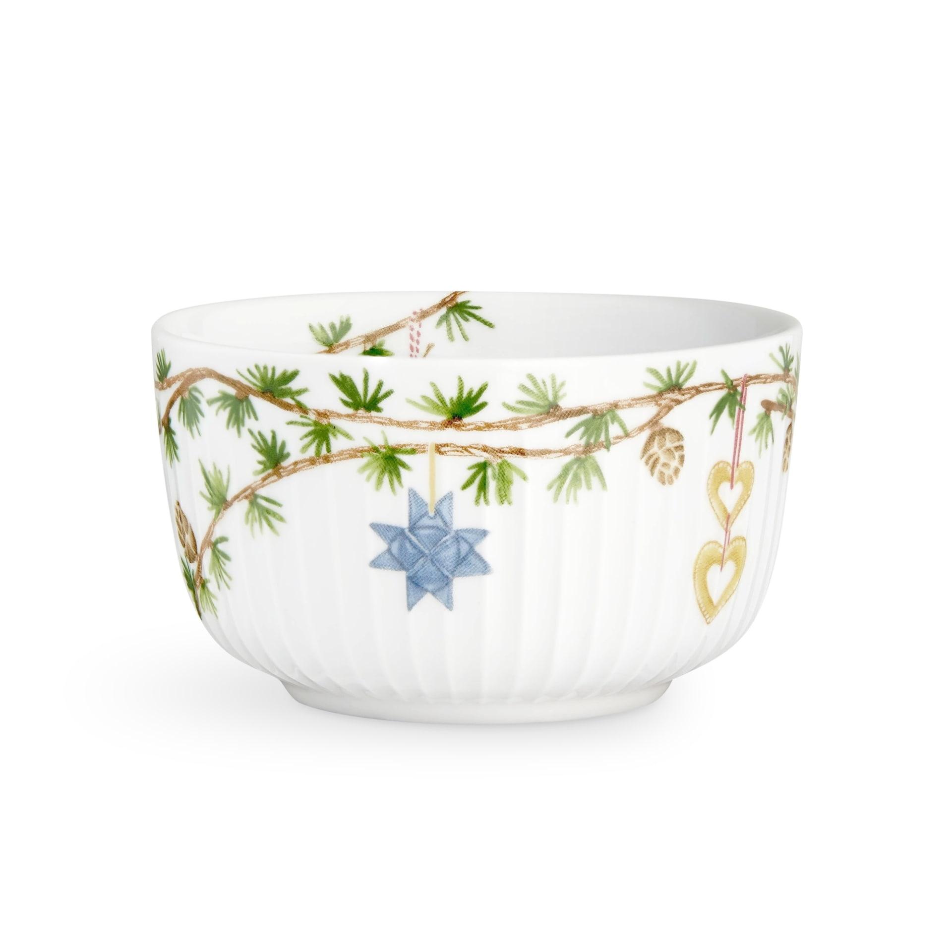 KÄHLER Miska Hammershøi Christmas, bílá barva, multi barva, porcelán