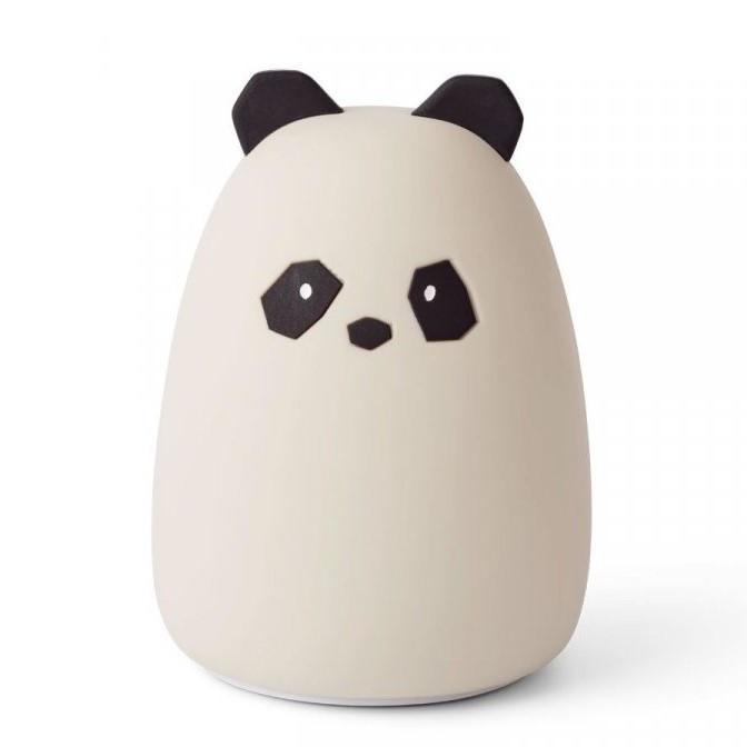 LIEWOOD Dětská noční lampička Panda Winston, krémová barva, plast - Liewood Winston noční světlo Panda Creme de la Creme