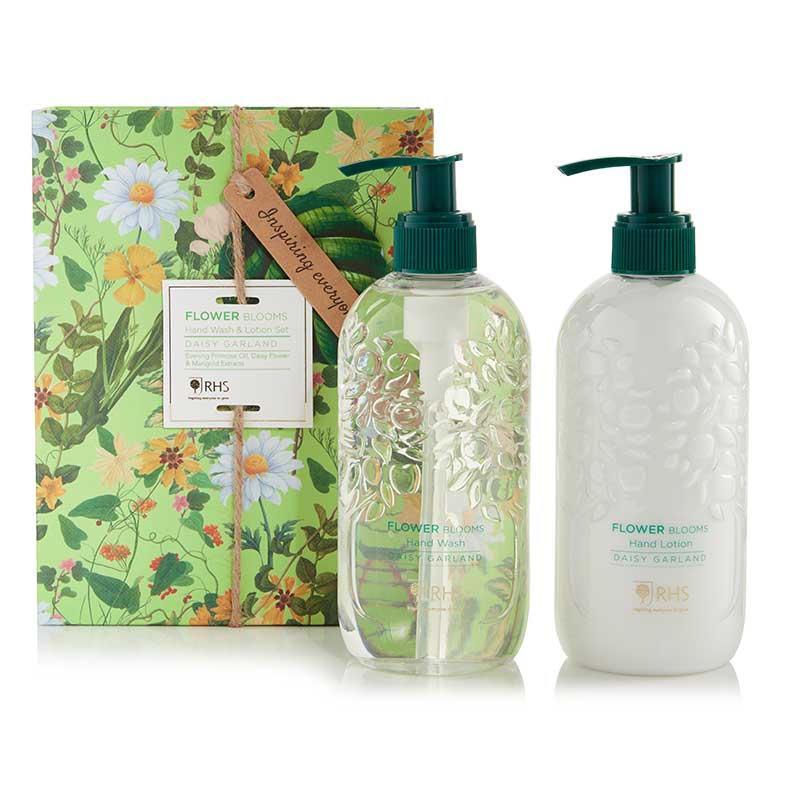 HEATHCOTE & IVORY Dárková sada kosmetiky na ruce Daisy Flower, zelená barva, plast