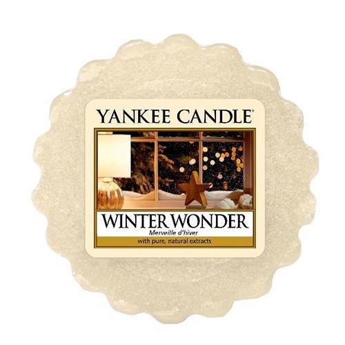 Yankee Candle Vosk do aromalampy Yankee Candle - Winter Wonder, krémová barva, vosk