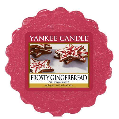 Yankee Candle Vosk do aromalampy Yankee Candle - Frosty Gingerbread, růžová barva, vosk