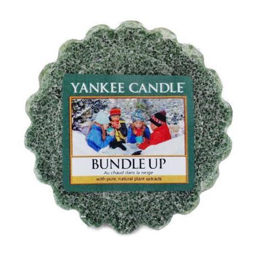 Yankee Candle Vosk do aromalampy Yankee Candle - Bundle Up, zelená barva, vosk
