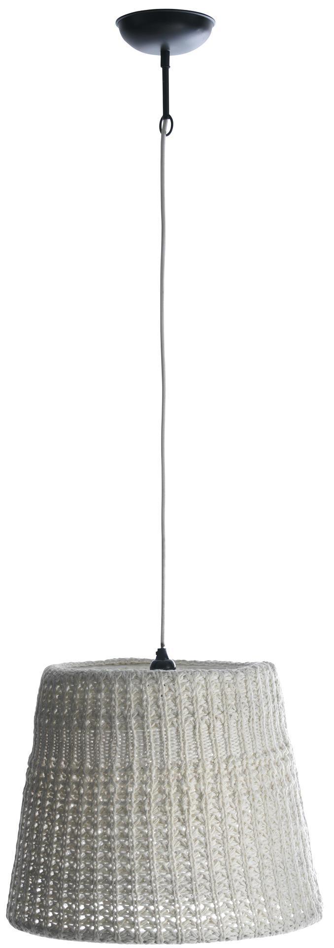 Madam Stoltz Stropní lampa Knitted white